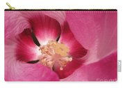 Hibiscus Moscheutos Named Luna Pink Swirl Carry-all Pouch