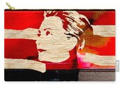 Hillary Clinton 2016 Carry-all Pouch by Marvin Blaine