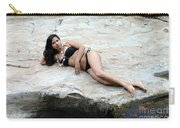 Hispanic Woman Waterfall Carry-all Pouch