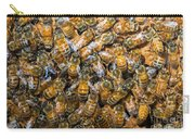 Honey Bees In Hive Carry-all Pouch