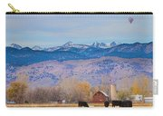 Hot Air Balloon Rocky Mountain Country View Carry-all Pouch