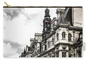 Hotel De Ville In Paris Carry-all Pouch by Elena Elisseeva