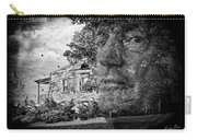 House On Haunted Hill Carry-all Pouch by Madeline Ellis
