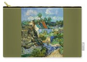 Houses At Auvers Carry-all Pouch