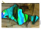 Houston Map Watercolor Carry-all Pouch