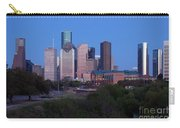 Houston Skyline At Dusk Carry-all Pouch