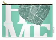 Houston Street Map Home Heart - Houston Texas Road Map In A Hear Carry-all Pouch