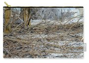 Ice Storm Poplars Carry-all Pouch
