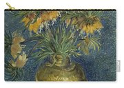 Imperial Fritillaries In A Copper Vase Carry-all Pouch