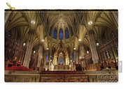 Inside St Patricks Cathedral New York City Carry-all Pouch