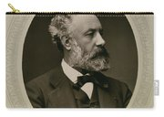 Jules Verne (1828-1905) Carry-all Pouch