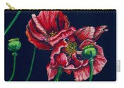 Kara's Poppies Carry-all Pouch