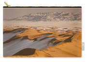 Khongor Sand Dunes In Winter Gobi Desert Carry-all Pouch