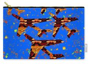 Kids Love Aeroplane Interior Decorations Signature   Art  Navinjoshi Artist Created Images Textures  Carry-all Pouch