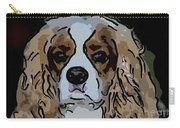 King Charles Art Carry-all Pouch
