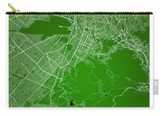 La Paz  Street Map - La Paz Bolivia Road Map Art On Colored Back Carry-all Pouch