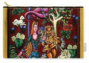 Lady Lion And Unicorn Carry-all Pouch