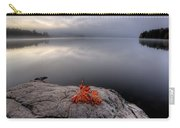 Lake In Autumn Sunrise Reflection Carry-all Pouch