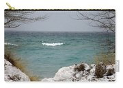 Lake Michigan In December Carry-all Pouch
