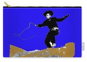Lash Larue Bull Whip Publicity Photo Carry-all Pouch
