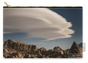 Lenticular Clouds Over Alabama Hills Carry-all Pouch