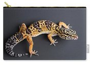 Leopard Gecko Eublepharis Macularius Carry-all Pouch