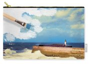 Lighthouse At Whitehaven Carry-all Pouch