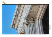 Lincoln County Courthouse Columns Looking Up 02 Carry-all Pouch