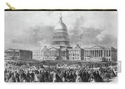 Lincoln Inauguration, 1865 Carry-all Pouch