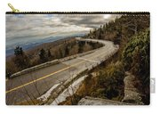 Linn Cove Viaduct During Winter Near Blowing Rock Nc Carry-all Pouch