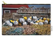 Lobster Fishing Carry-all Pouch by Elena Elisseeva