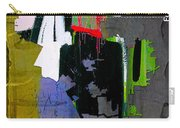 Los Angeles Map Watercolor Carry-all Pouch by Marvin Blaine