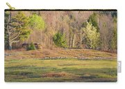 Maine Blueberry Field In Spring Carry-all Pouch by Keith Webber Jr