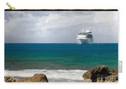 Majesty Of The Seas At Coco Cay Carry-all Pouch