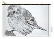 Male House Finch Sketch  Carry-all Pouch