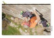 Man Climbing Re Azul, An Historic 7b Carry-all Pouch