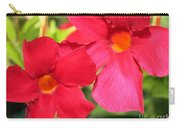 Mandevilla Named Sun Parasol Crimson Carry-all Pouch