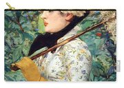 Manet's Spring Carry-all Pouch
