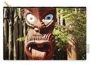 Maori Carving Carry-all Pouch