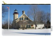 Mcgulpin Point Lighthouse In Winter Carry-all Pouch