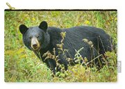 Meadow Black Bear Carry-all Pouch