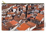 Medieval Town Rooftops Carry-all Pouch by Jose Elias - Sofia Pereira
