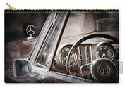 Mercedes-benz 250 Se Steering Wheel Emblem Carry-all Pouch