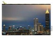 Midtown Atlanta Skyline At Dusk Carry-all Pouch