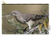Mocking Bird With Ripe Hackberry Carry-all Pouch