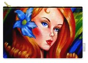 Mod Barbie Redhead Carry-all Pouch