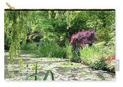 Monets Waterlily Pond Carry-all Pouch