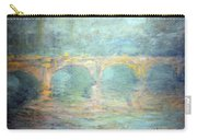 Monet's Waterloo Bridge In London At Sunset Carry-all Pouch