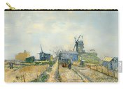 Montmartre Mills And Vegetable Gardens Carry-all Pouch