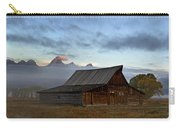 Morning At The South Moulton Barn Grand Tetons Carry-all Pouch